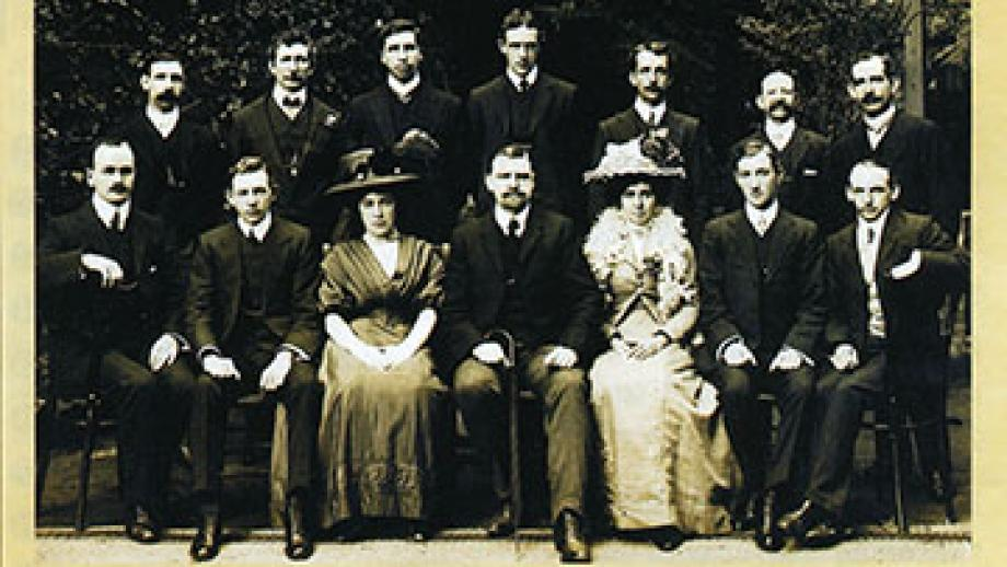 Makers of the first Award, 1908-9