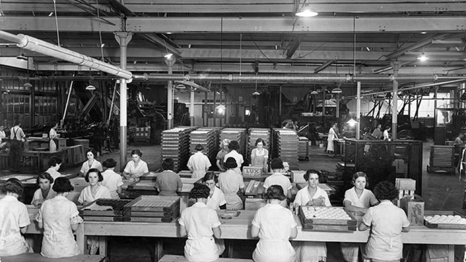 Lux flakes and toilet soap Manufacturing Room