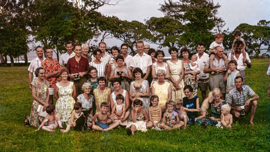 Missionaries in New Hebrides, Mission Camp
