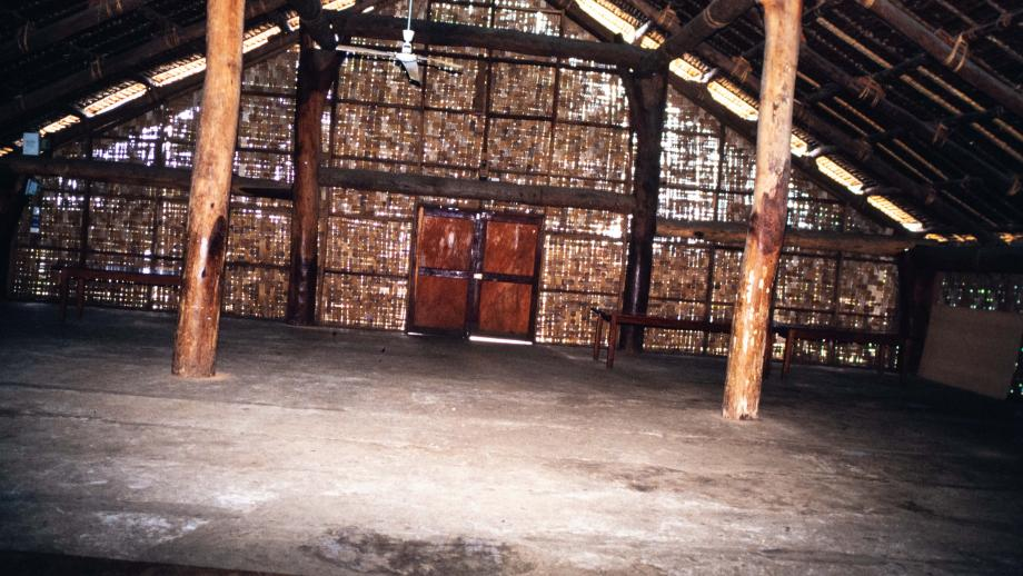 Nakamal Meeting House for Chiefs, Interior