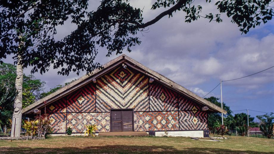 Nakamal Meeting House for Chiefs
