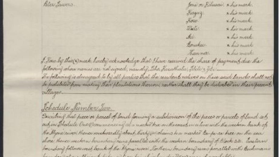Excerpt of lease