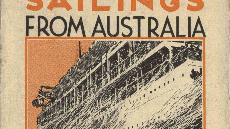 Burns Philp List of Sailings from Australia