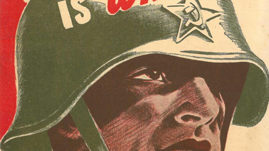 """Pamphlet - """"Why the Red Army is Winning"""", Rupert Lockwood, c. 1942 (P44-1-307)"""