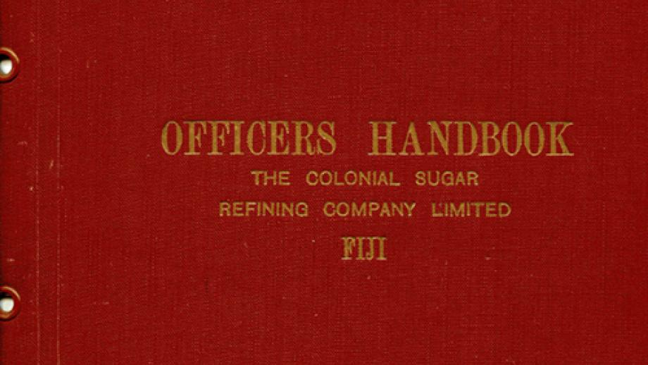 Officers handbook for use in Fiji
